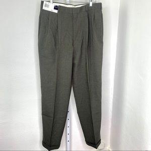 Slate Basics Green Dress Pants NWT  | W34x L34